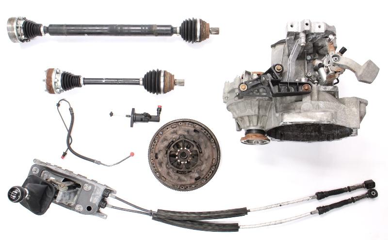 5 Speed Manual Transmission Partial Swap Kit 05-10 VW Jetta Rabbit MK5 2.5 JCT
