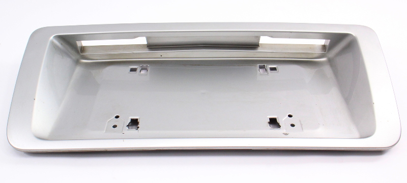 Trunk License Plate Holder 00-03 Audi A8 S8 D2 LY7W Silver Genuine - 4D0 853 465