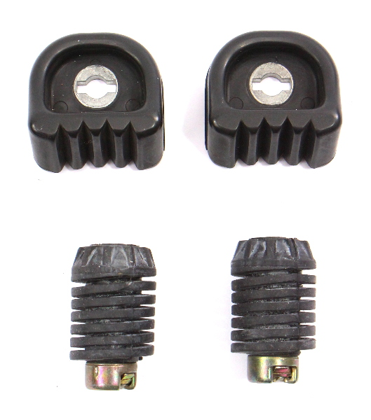 Trunk Rubber Stops Adjusters 00-03 Audi A8 S8 D2 - Genuine - 8A5 827 249