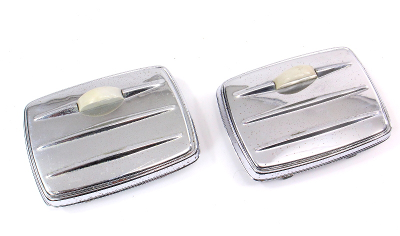 Rear Ash Trays & Mounts 1971 VW Beetle Bug Vintage Genuine Aircooled