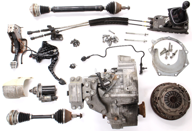 6 Speed Manual Transmission Swap Kit 11-18 VW Jetta GLI 2.0T MK6 Sedan 125k MDL