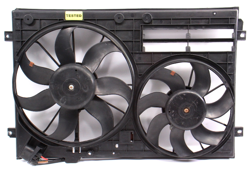 Electric Radiator Cooling Fans & Module 11-18 VW Jetta MK6 2.0T GLI