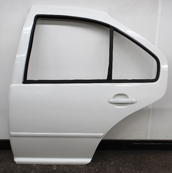 LH Rear Exterior Door Shell 99-05 VW Jetta Golf MK4 4DR LA9B Cool White