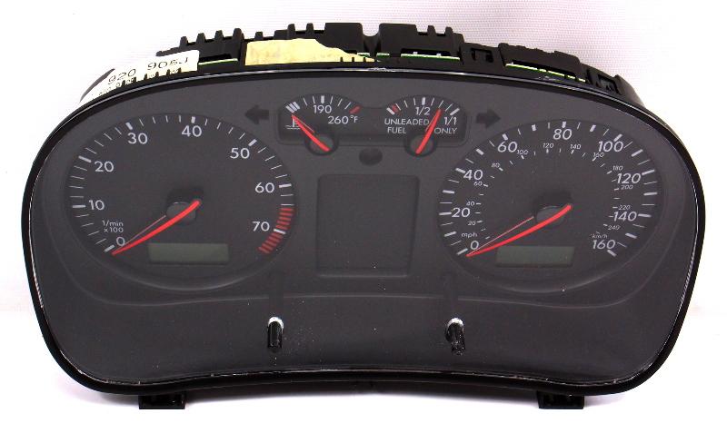 Gauge Cluster Speedometer 2001 01 VW Jetta MK4 1.8T 2.0 MT 33k - 1J0 920 905 J