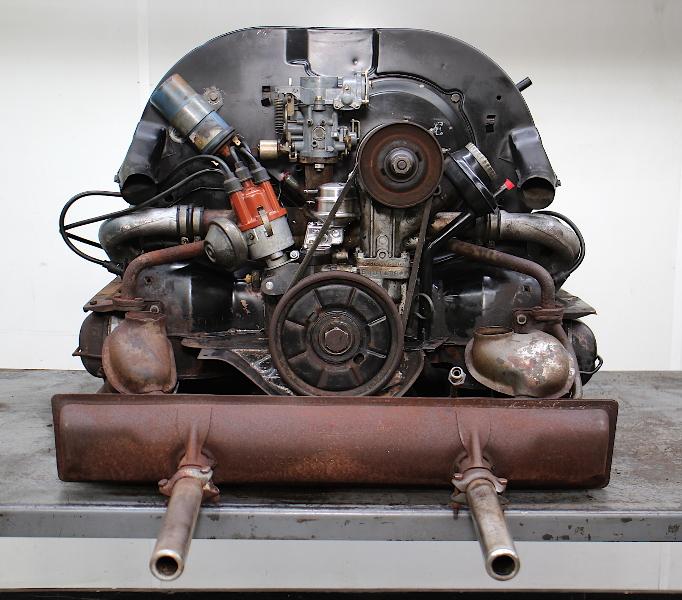 Running 1600cc Dual Port Aircooled Engine 71-75 VW Beetle Ghia Thing Bus Bug