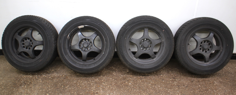 "15"" Wheel Tire Rim Set 5x100 VW Jetta Golf GTI MK4"