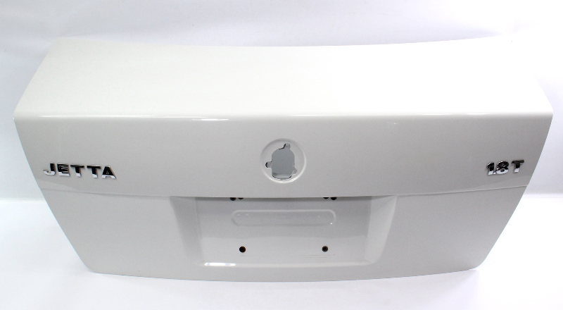 Trunk Lid Deck Boot w/ Lip 99-05 VW Jetta MK4 Boot - LA9B Cool White - Genuine