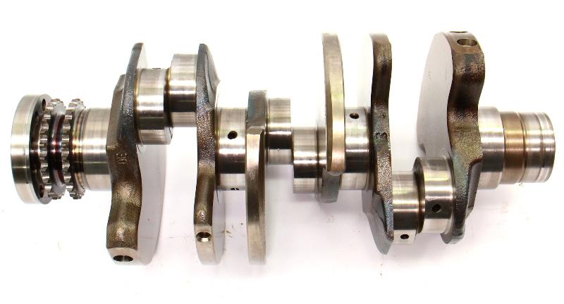 CrankShaft Crank Shaft 05-12 Audi A4 A5 A6 Q5 BKH 3.2 V6 - Genuine