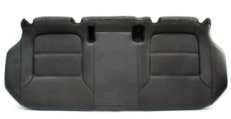 Rear Seat Lower Cushion 11-18 VW Jetta MK6 Sedan - Black Leatherette