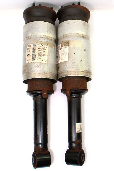 front air shocks springs suspension pair 06-09 land rover l320