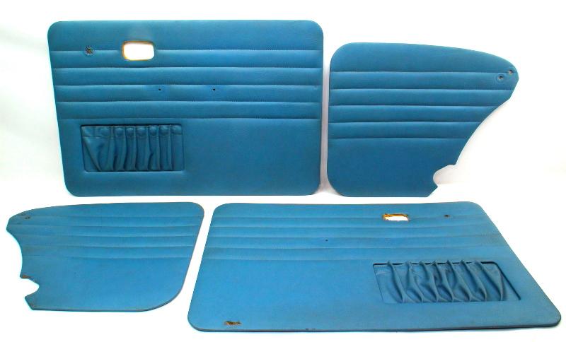 Panel Set Greenish Blue 67-77 VW Beetle Door Set