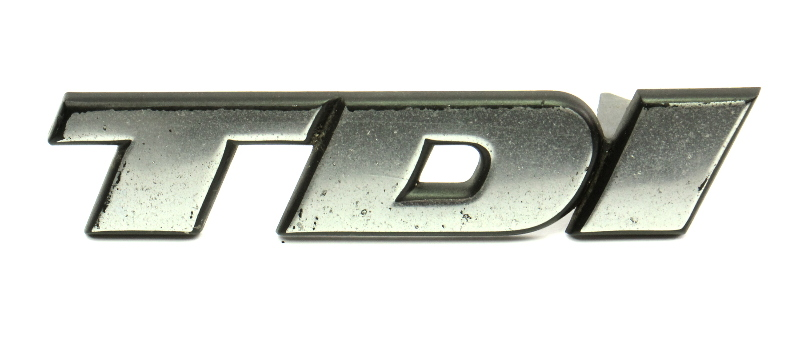 Front Grille Emblems Badge Logo 96-99 VW Jetta TDI MK3 - Genuine - 3A0 853 679 C