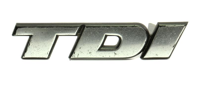 Front Grille Emblems Badge Logo 96-99 VW Jetta TDI MK3 - Genuine - 3A0 853 679 C