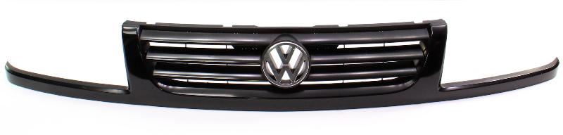 Genuine VW Grill Grille 93-99 VW Jetta MK3 L041 Black - 1H5 853 653 D