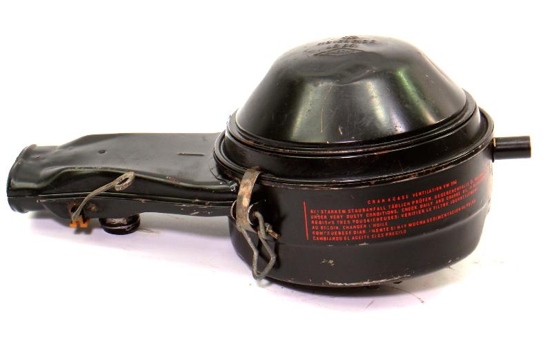 Air Cleaner Intake 1966 VW Beetle Bug Oil Bath Aircooled 1300cc - 113 129 613 E
