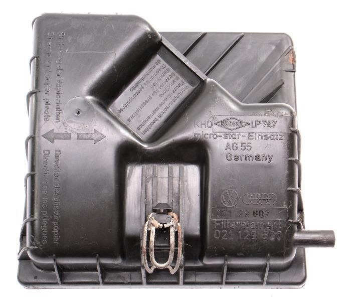 Air Intake Cleaner Box Top Airbox VW 80-85 VW Vanagon T3 - Genuine - 071 129 607