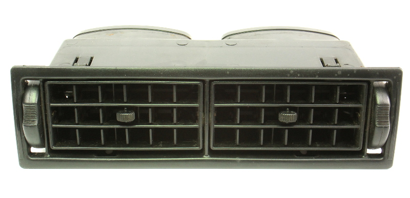 Interior Dash Center Air Vents 88-92 VW Jetta Golf MK2 - Genuine - 191 819 709 A