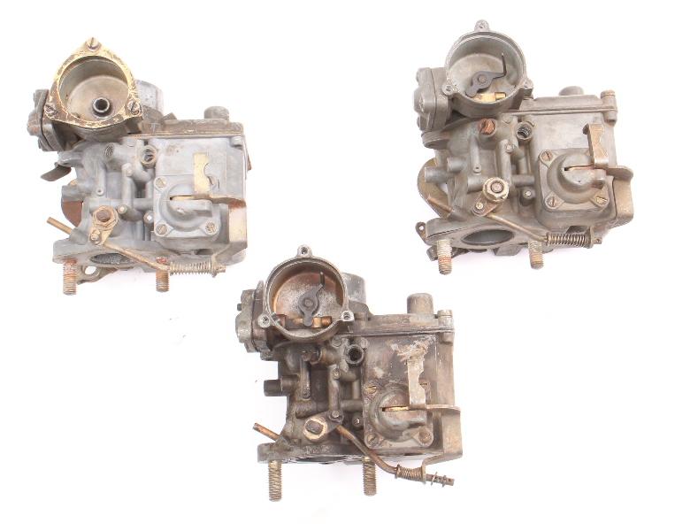 Solex Carburetor Carb Parts Lot 30 PICT-3 1970 VW Beetle Bus 1600 113 129 029 D