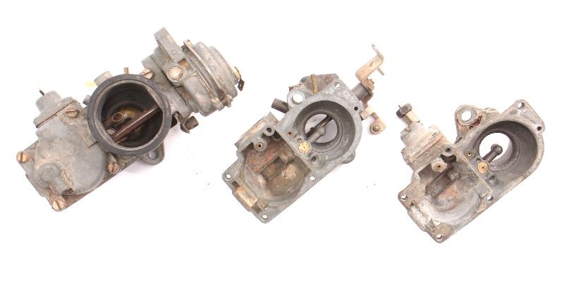 Solex Dual Carb 32-34 PDSIT Carb Carburetor Parts Lot 72-79 VW Bus Bay Window