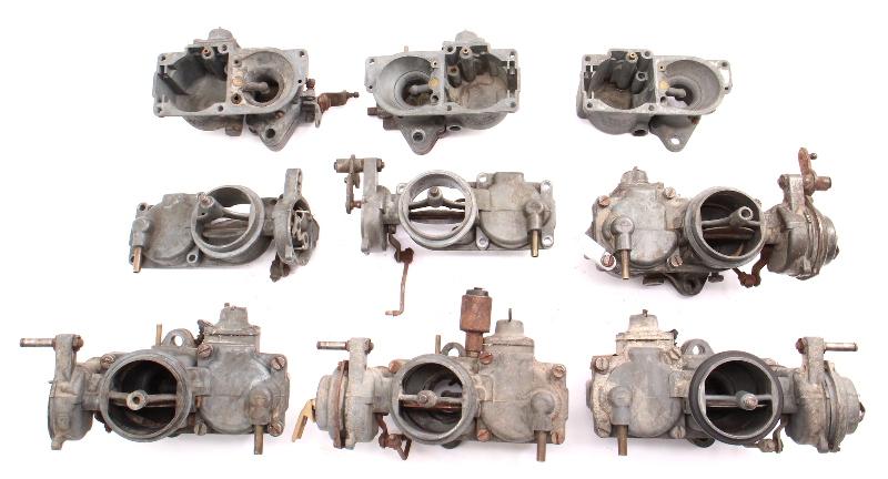Solex Dual Carb Parts Lot 32 PDSIT Carburetor 63-68 VW Type 3 - 341 129 026 B