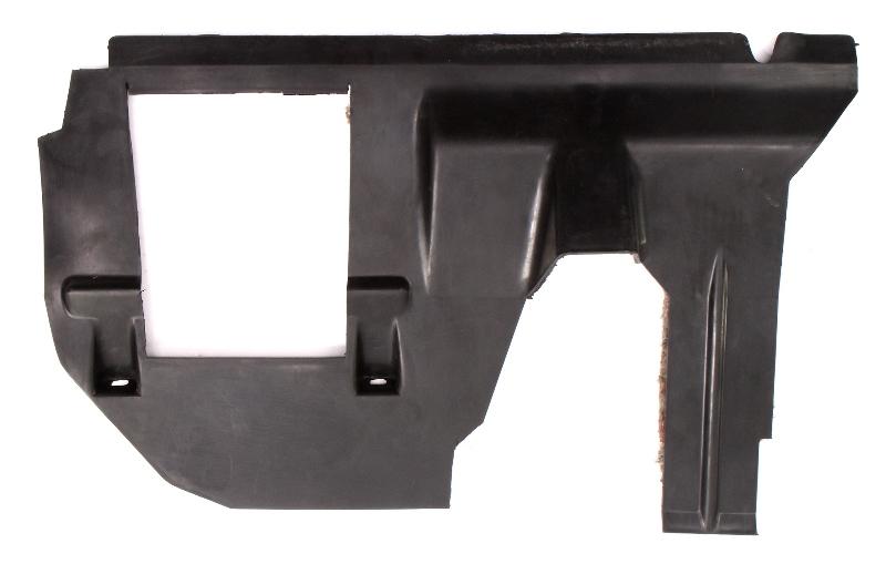LH Lower Dash Fuse Cover Panel 81-84 VW Rabbit Pickup GTI Mk1 - 175 863 081 E