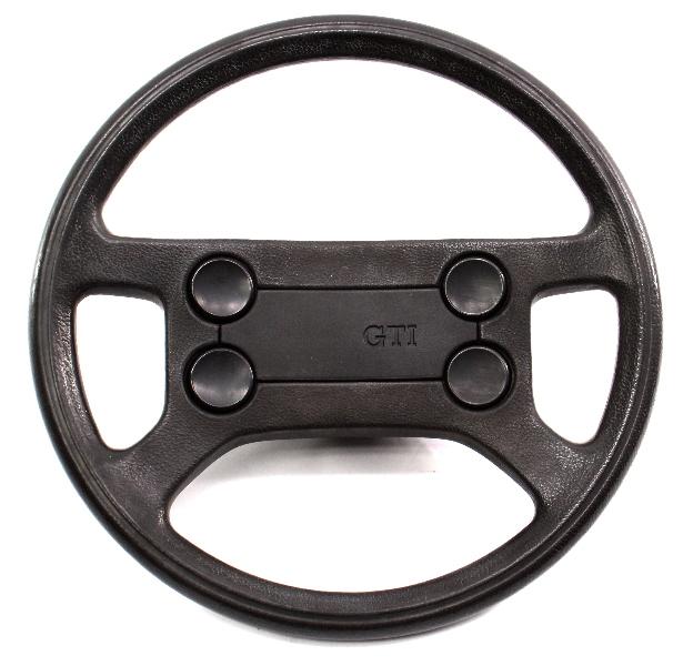 4 Spoke Sport Steering Wheel 83-84 VW Rabbit GTI  MK1 - Genuine - 171 419 091