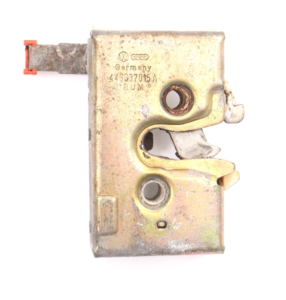 LH Driver Front Door Latch 82-91 Audi 5000 100 200 - Genuine - 443 837 015 A