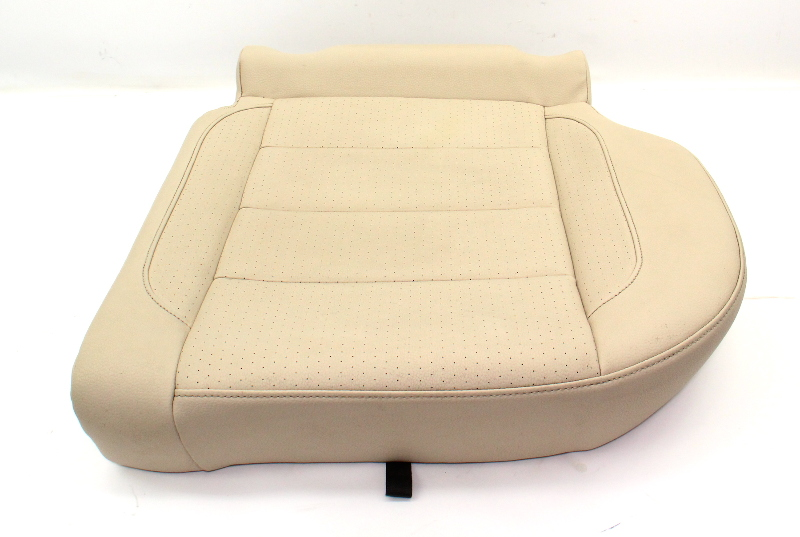 LH Rear Seat Lower Cushion 10-14 VW Jetta Sportwagen MK5 Cornsilk Beige