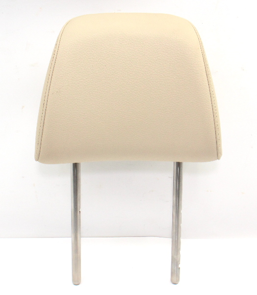 Front Seat Head Rest 10-14 VW Jetta Sportwagen MK5 MK6 Golf - Corn Silk Beige