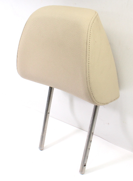 Front Seat Head Rest 10-14 VW Jetta Sportwagen MK5 MK6 Golf ~ Corn Silk Beige