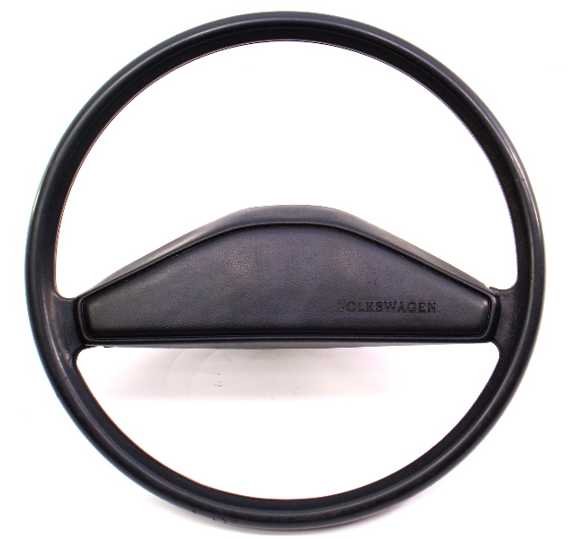 original steering wheel horn pad vw rabbit jetta pickup 1970 VW Bug Interior