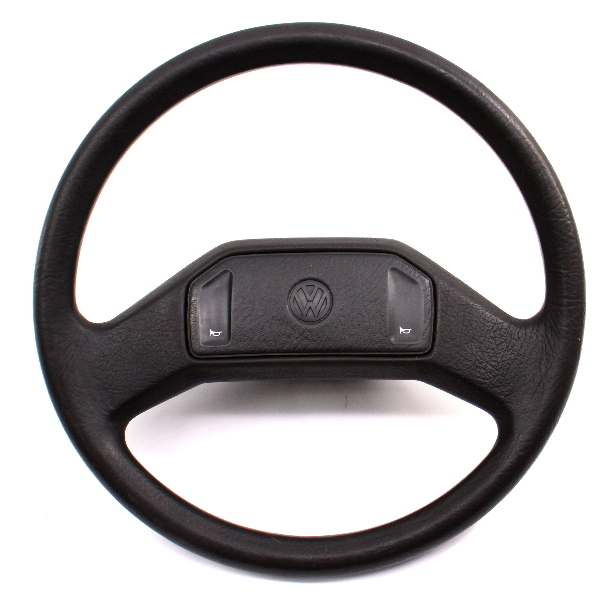 Steering Wheel VW Fox Jetta Golf GTI Mk1 MK2 - Genuine - 307 419 091