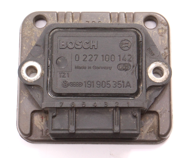 Ignition Control Module VW Jetta Golf Scirocco MK2 Vanagon Fox - 191 905 351 A
