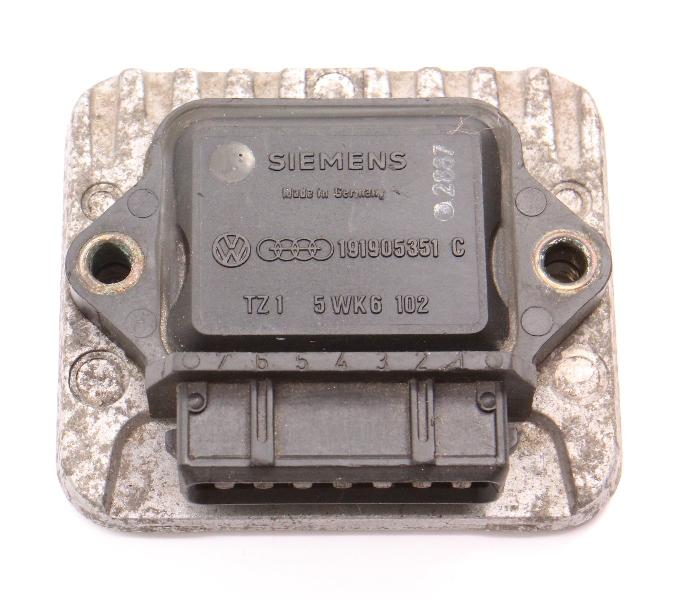 Ignition Control Module VW Jetta Golf Scirocco MK2 Vanagon Fox - 191 905 351 C