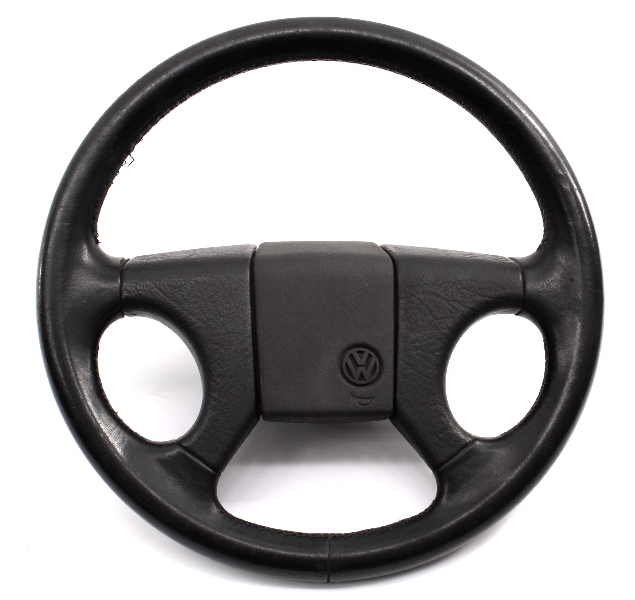 Leather GTI Sport Steering Wheel 85-92 VW Jetta Golf MK1 MK2 - 191 419 091 R