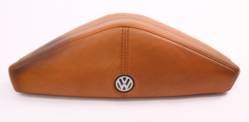 Steering Wheel Horn Pad Button 80-84 VW Rabbit Pickup LS Mk1 Brown 175 419 669 E