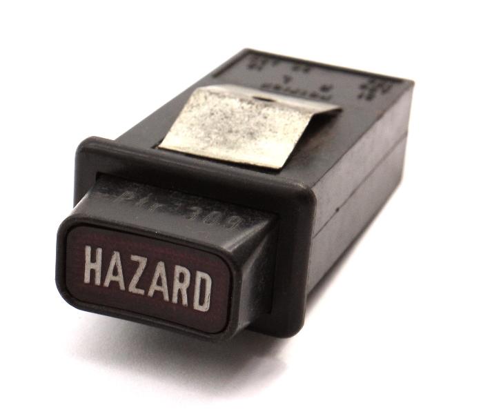 Hazard Flasher Dash Switch Button 1975 VW Dasher - Genuine - 839 941 533