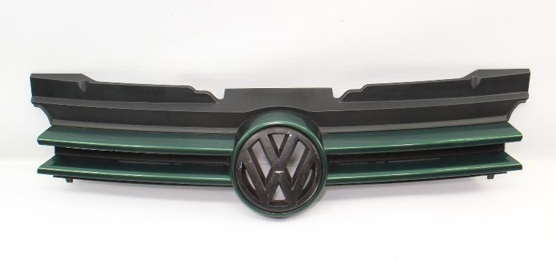 Genuine VW Grill Grille & Emblem 99-02 Cabrio MK3.5 - LC6M Green - 1E0 853 655
