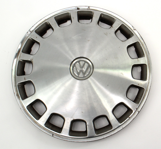 "Genuine VW Metal 13"" Hub Cap Wheel Cover VW Jetta Golf Rabbit Pickup Mk1 MK2 -"