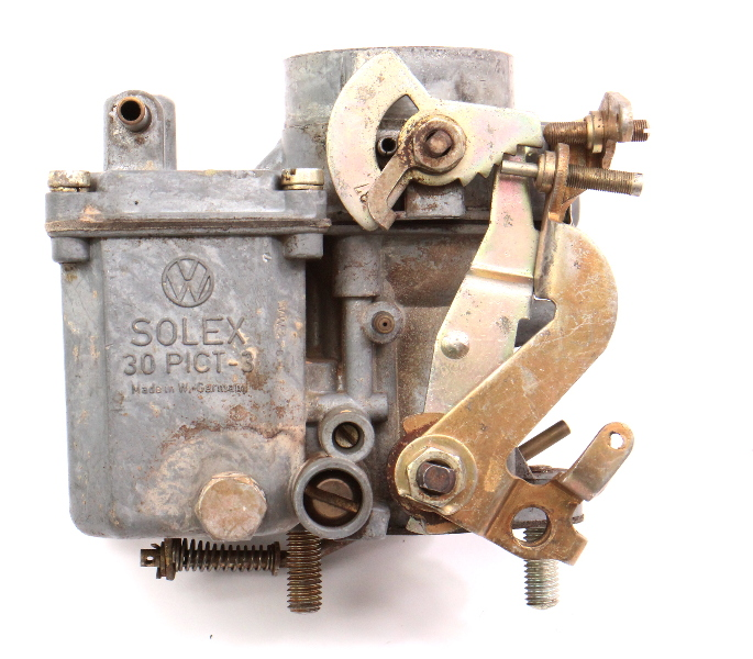 Solex Carburetor Carb 30 PICT-3 1970 VW Beetle Bus 1600 Single Port Aircooled -