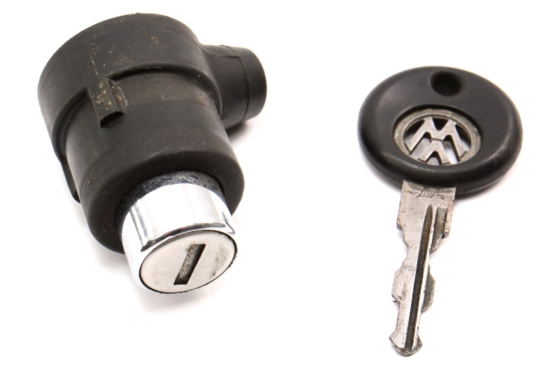 Trunk Hatch Lock Cylinder Button & Key VW Jetta Rabbit GTI MK1 ~ 171 827 539