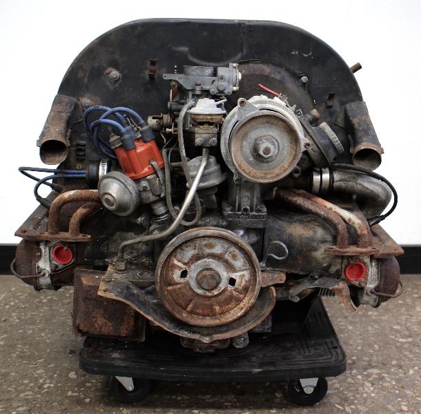 73-74 Aircooled Engine Motor VW Beetle Bug 1600 Dual Port