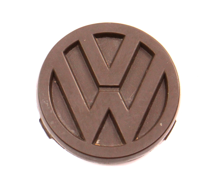 Steering Wheel Emblem Badge 80-91 VW Vanagon T3 - Genuine - 255 419 685