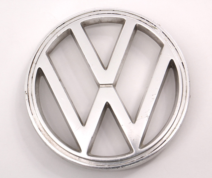 Front Emblem 64-79 VW Beetle Bug Aircooled 62-69 Type 3 Genuine - 113 853 601 B