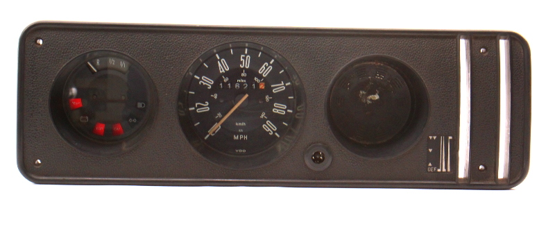 Gauge Cluster Speedometer 1977 VW Bus Transporter Bay Window T2 - 211 957 023 P