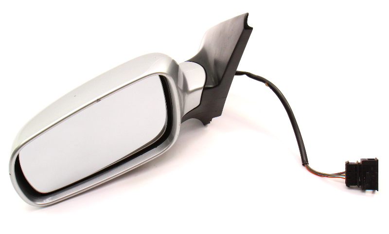 LH Side View Door Mirror VW Jetta Golf GTI MK4 LA7W Reflex Silver ~ Genuine ~