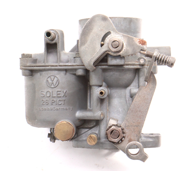 Solex Carburetor Carb 28PICT 61-63 VW Beetle Bug 1200cc 40HP - Genuine