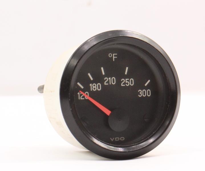 Center Console VDO Oil Temperature Gauge 75-84 VW Beetle Bug Rabbit Golf