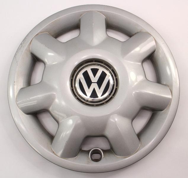 "14"" Hubcap 93-99 VW Jetta Golf Cabrio MK3 Genuine Wheel Cover - 1H0 601 147"