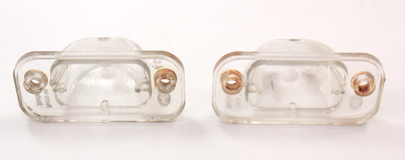License Plate Lights Lamps Lens 85-92 VW Jetta Golf GTI MK2 - Genuine